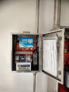 Painel elétrico para Monitoramento de Fontes de Água Mineral